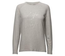 Sweatshirt Langärmliges Tshirt Grau SIGNAL