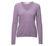 Tia V Pullover Ma18 Strickpullover Lila