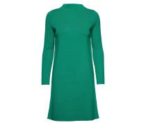 Dress Knitwear Kleid Knielang Grün