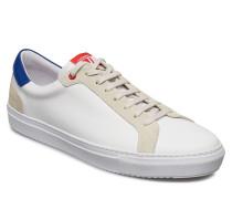 Sneaker Mix Calf Niedrige Sneaker Blau J. LINDEBERG