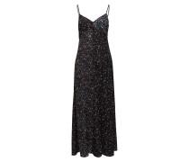 Aubine Fluid Maxi Slip Dress Maxikleid Partykleid Schwarz FRENCH CONNECTION