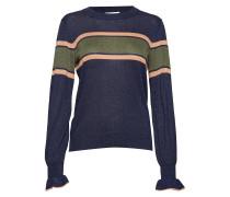 Orit Knit Striped O-Neck