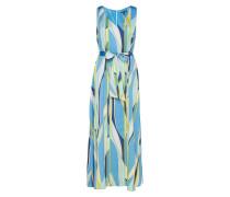 Dresses Light Woven Maxikleid Partykleid Blau