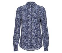 O2. Snowdrop Spread Shirt Blouse Langärmliges Hemd Blau
