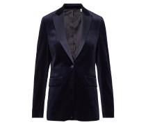 G1. Velvet Tuxedo Blazer