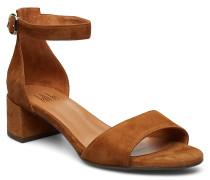 Sandals Sandale Mit Absatz Braun
