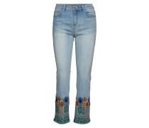 Denim Copen Straight Jeans Hose Mit Geradem Bein Blau DESIGUAL