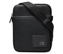Ck Direct Flat Cross Bags Small Shoulder Bags/crossbody Bags Schwarz CALVIN KLEIN