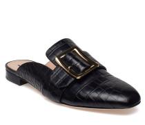 Janesse Schuhe Slipins Schwarz