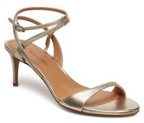 Ao202 Sandale Mit Absatz Gold PURA LOPEZ