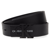 J 3cm Monogram Belt, Accessories Belts Classic Belts Schwarz