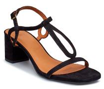 Sandals 8721 Sandale Mit Absatz Schwarz