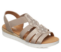Sling Sandals Flache Sandalen Gold GABOR
