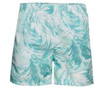 Wave Swim Shorts C.F Badeshorts Grün GANT