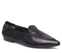 Shoes Loafers Flache Schuhe Schwarz