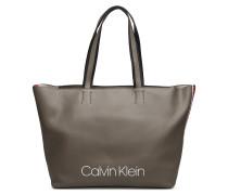 Collegic Shopper Shopper Tasche Grau