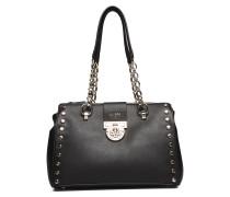 Marlene Luxury Satchel Bags Top Handle Bags Schwarz GUESS