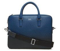 Signature D_slim Doc Schultertasche Tasche Blau BOSS BUSINESS WEAR