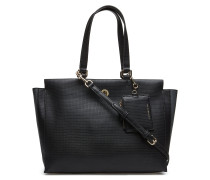 Effortless Saffiano, Shopper Tasche Schwarz