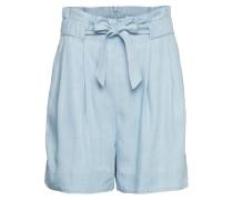 Sophia Shorts Shorts Flowy Shorts/Casual Shorts Blau SECOND FEMALE