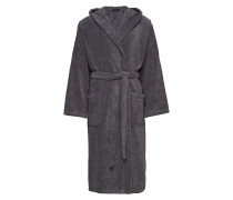 Bath Robe Bademantel Morgenmantel Grau