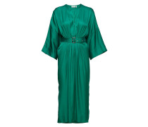 Hattie Dress Kleid Knielang Grün INWEAR
