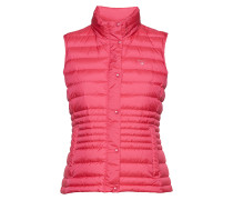 O1. Light Down Vest Weste Pink GANT