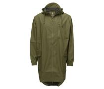 Parka Coat Regenkleidung Grün RAINS