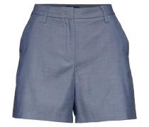 D1. Chambray Shorts Bermudashorts Blau GANT