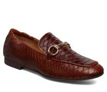 Shoes 17044 Loafers Flache Schuhe Braun