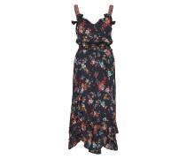 Marvelously Free Strap Dress Kleid Knielang Schwarz ODD MOLLY