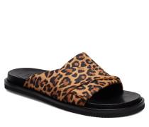 Sandals 8655 Flache Sandalen Braun