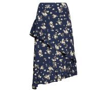 Harriettecr Skirt Knielanges Kleid Blau CREAM