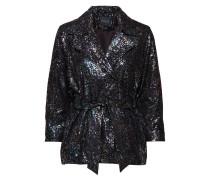 Slfsojan Glitter Leather Jacket B