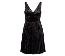 Yvonne Dress Kurzes Kleid Schwarz GUESS JEANS