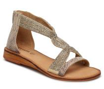 Stellia Sandal Flache Sandalen Gold CREAM