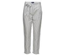 O2. Striped Linen Pants