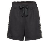 Longer Length Drapey Shorts With Contrast Side Panels Shorts Flowy Shorts/Casual Shorts Schwarz SCOTCH & SODA