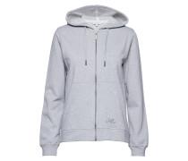 Sweatshirt Hoodie M. Reißverschluss Grau SIGNAL