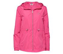 Tjw Waist Detail Jacket Parka Jacke Mantel Pink TOMMY JEANS