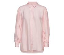 Iw50 04 Hutton Shirt Bluse Langärmlig Pink INWEAR