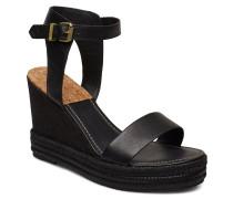 San Diego Wedge Sandal Sandale Mit Absatz Espadrilles Schwarz GANT