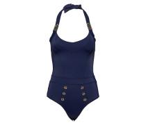 Md Royal Navy Unpadded Bathing Suit