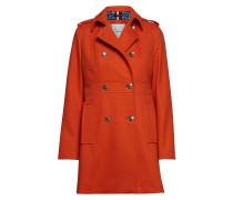 Madison Coat Wollmantel Mantel Orange TOMMY HILFIGER