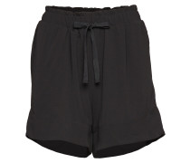 Solidi Shorts Shorts Flowy Shorts/Casual Shorts Schwarz SECOND FEMALE