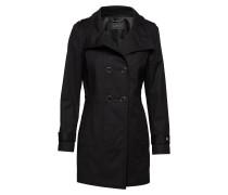 Coats Woven Trenchcoat Mantel Schwarz ESPRIT COLLECTION