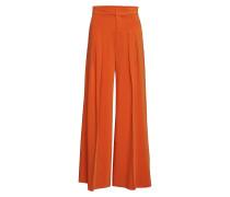 Abra Wide Pant Hosen Mit Weitem Bein Orange INWEAR