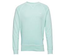 D2. Sunfaded C-Neck Sweat Langärmliger Pullover Blau GANT