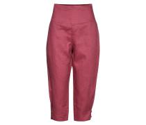 Pen Culotte Hose Mit Geraden Beinen Pink MASAI