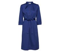 Langärmiges Kleid Kleid Knielang Blau NOA NOA